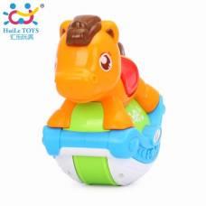 Игрушка Huile Toys Музыкальная лошадка 3105ABC-B