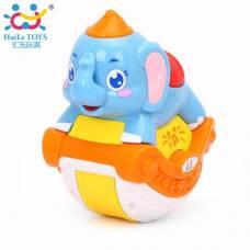 Игрушка Huile Toys Музыкальный слоник 3105ABC-C