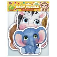 BABY PUZZLE Тварини Африки Ранок Креатив
