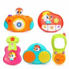 Комплект подвесных музыкальных игрушек Huile Toys 5 шт. 3111