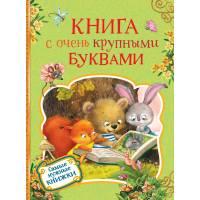 Книга с очень крупными буквами Росмэн