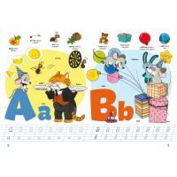 Школа почемучки. English ABC. 100 развивающих наклеек 9789669870452 Кристал Бук