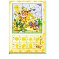 Большая книга пазлов Цвета и формы Ранок 9789667463564 (подарочная)