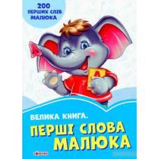 Волошкові книжки Велика книга Перші слова малюка Сонечко