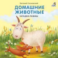 Книжки - картонки Домашние Загадки-рифмы Робинс