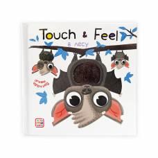 Тактильная книжка В лесу Погладь меня! Touch & Feel Malamalama