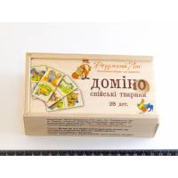 Домино Домашние животные Розумний лис 90039