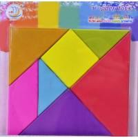 Деревянная игрушка Головоломка Танграм Wooden Toys 0129-1