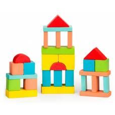 Деревянная игрушка Конструктор Краски дня Утро 30 деталей ТОМИК 6674-13