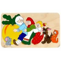 Деревянная игрушка Мозаика Репка КРОНА 143-012