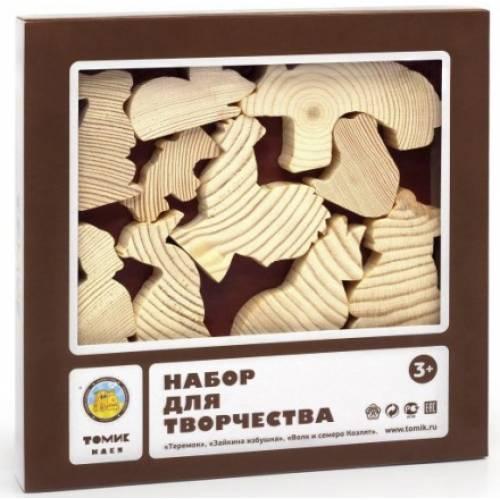 Деревянная игрушка Набор для творчества Сказки 1 ТОМИК 804