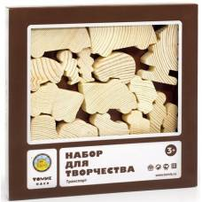 Деревянная игрушка Набор для творчества Транспорт 808 ТОМИК