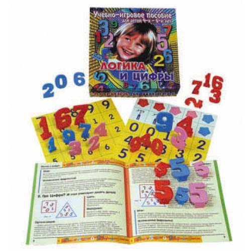 Учебно-игровое пособие Логика и цифры Корвет КОР-002