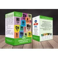 Настольная игра Химические элементы 1 Квартет KVP017