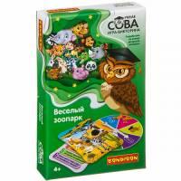 Игра-викторина Умная Сова Веселый зоопарк Bondibon