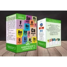 Настольная игра Химические элементы 2 Квартет KVP018