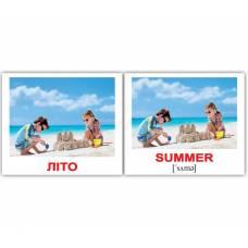 Англо-украинские карточки Домана МИНИ Пори року/Seasons 40 Вундеркинд с пелёнок 2100064283512