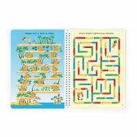 Рабочая тетрадь Лабиринты для детей 3-7 лет Фишер
