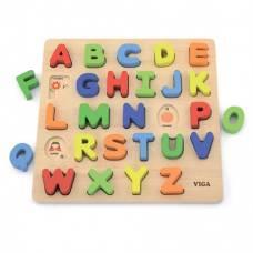 """Набор для обучения Viga Toys """"Алфавит: слово на букву"""" 50124"""