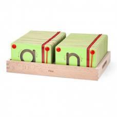 Набор для написания магнитных букв Строчные Viga Toys 50338