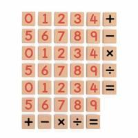Набор Viga Toys Магнитные цифры и знаки 40 шт. 50591