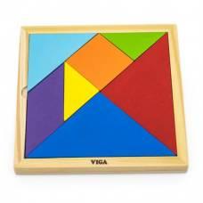 """Набор для обучения Viga Toys """"Танграм"""" 55557"""