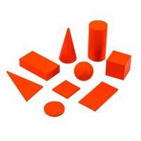 Набор для обучения Viga Toys Геометрические тела и фигуры 55559