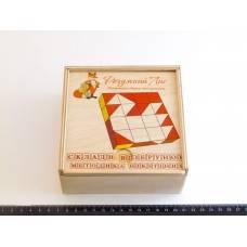 Кубики Сложи узор 3х3 см Методика Никитина Розумный лис 90050