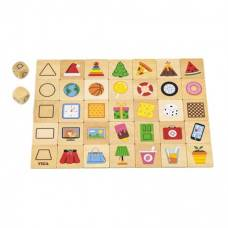 Набор для обучения и НУШ Viga Toys пазл Изучаем формы 44506