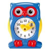Набор для обучения Gigo Часы Сова, синий 8020