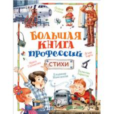 Большая книга профессий. Стихи Росмэн 978-5-353-08594-2