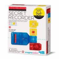 Набор шпиона 4M Записывающие устройства 00-06808