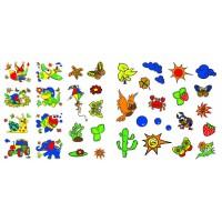 Супер-раскраски с наклейками и красками Птичка Кристал Бук