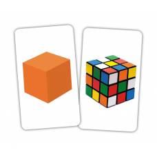 Карточки Домана Игра Фигуры от 1 года Вундеркинд с пелёнок 2100065276315